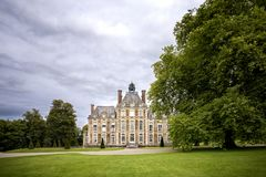 Замок de Balleroy Balleroy, Нормандия, Франция Стоковое Фото