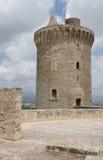 Замок de Bellver. Стоковое Фото