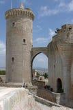 Замок de Bellver. Стоковая Фотография