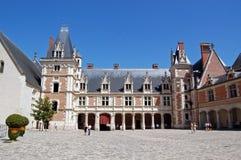 замок de blois королевский стоковое изображение rf
