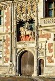 Замок de Blois, Франция стоковая фотография rf
