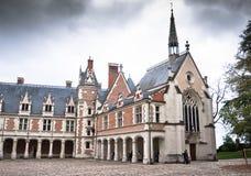 Замок de Blois. Loire Valley, франция стоковые изображения rf