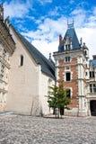 Замок de Blois. Loire Valley, франция стоковая фотография rf