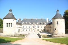 Замок De Bussy-Rabutin/Замок De Bussy-Le-Грандиозн Стоковые Фотографии RF