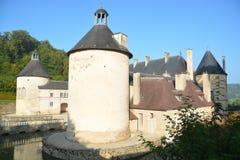 Замок De Bussy-Rabutin/Замок De Bussy-Le-Грандиозн Стоковая Фотография