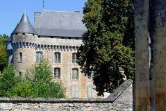 Замок de Campagne Стоковое Изображение