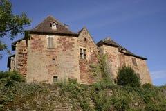 Замок de Castelnau Стоковое фото RF