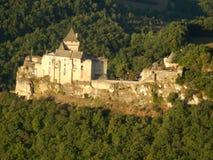 Замок de Castelnaud Стоковое Изображение RF