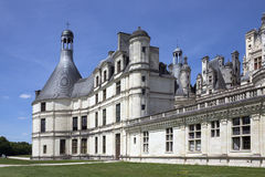 Замок de Chambord - долина Loire - Франция стоковое изображение rf