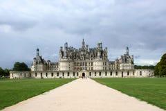 замок de chambord стоковая фотография rf