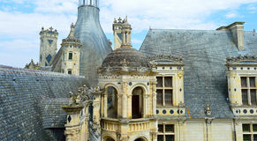 замок de chambord Стоковые Фото