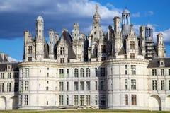 Замок de Chambord, Loire Valley, франция Стоковые Фото