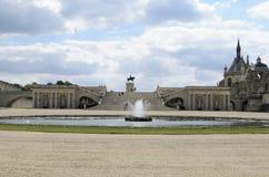 Замок de Chantilly Стоковые Фото