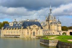 Замок de Chantilly Стоковое Изображение
