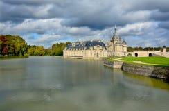 Замок de Chantilly Стоковая Фотография