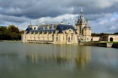 Замок de Chantilly Стоковое Фото