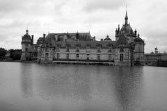 Замок de Chantilly Стоковое Изображение RF
