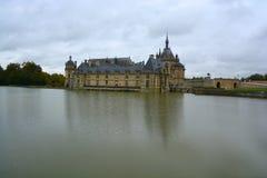 Замок de Chantilly Стоковое фото RF