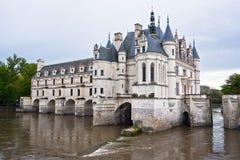 Замок de Chenonceau, долина Loire, Франция Стоковые Фото