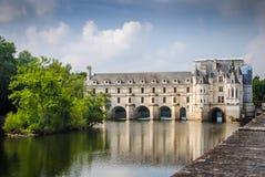 Замок de Chenonceau Стоковая Фотография