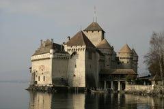Замок De Chillon Замок Стоковая Фотография