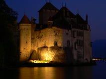 Замок de Chillon, Монтрё (Suisse) Стоковые Фото