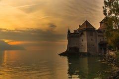 Замок de Chillon Стоковые Изображения RF