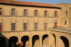 замок de emperi l салон le Провансали стоковые изображения