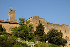 замок de emperi l салон le Провансали стоковое изображение rf