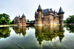 Замок De Haar Голландия Стоковая Фотография RF