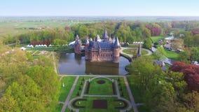 Замок De Haar Стоковое Изображение RF