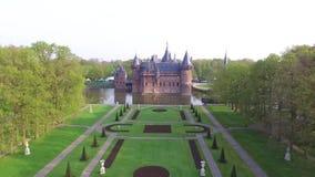 Замок De Haar видеоматериал