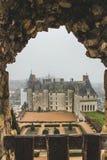 Замок de Langeais/Loire Valley стоковое изображение