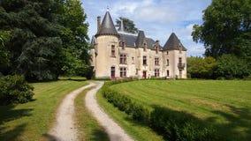 Замок de Ribagnac Стоковые Изображения