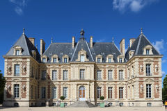 Замок de Sceaux - грандиозный загородный дом в Sceaux, Hauts-de-Сене, не далеко от Парижа, Франции Стоковая Фотография RF