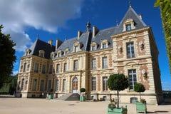 Замок de Sceaux - грандиозный загородный дом в Sceaux, Hauts-de-Сене, не далеко от Парижа, Франции Стоковые Фото