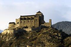 замок de valere Стоковая Фотография