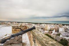 Замок del Segura Guardamar, Аликанте, Испании стоковое фото rf