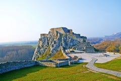 Замок Devin Стоковые Изображения