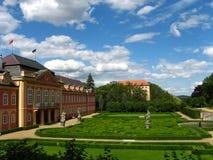 Замок Dobris, чехия стоковое фото rf
