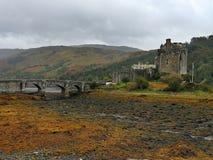 Замок Donan стоковые фотографии rf