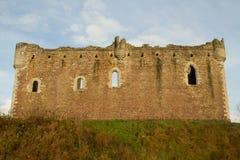 Замок Doune Стоковое Изображение
