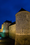 Замок Dourdan, Эссонна Стоковые Фото