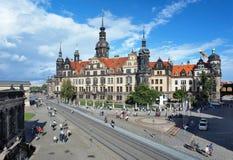 замок dresden Германия стоковое фото