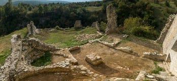 Замок Dreznik, Хорватия Стоковое фото RF