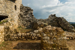 Замок Dreznik, Хорватия Стоковое Изображение RF