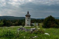 Замок Dreznik, Хорватия Стоковые Изображения RF