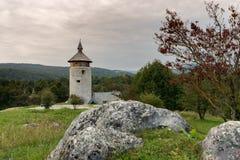 Замок Dreznik, Хорватия Стоковая Фотография