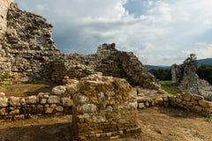 Замок Dreznik, Хорватия Стоковые Изображения
