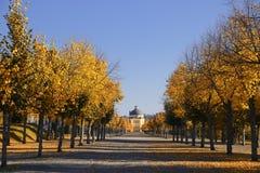 Замок Drottningholm и парк, Стокгольм Швеция стоковые изображения rf
